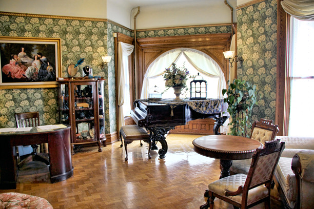 Nagle Warren Mansion :: Bed & Breakfast in Cheyenne, Wyoming