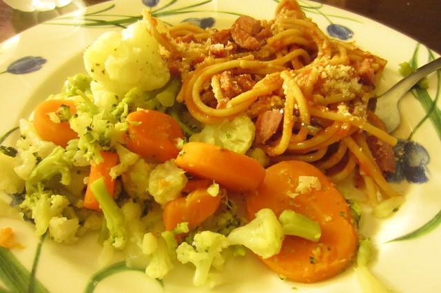 summer routine: dinner
