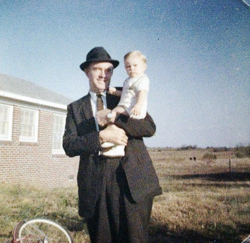 Dad holding me 1961
