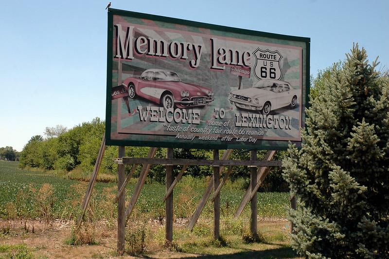 Memory Lane, Lexington, IL