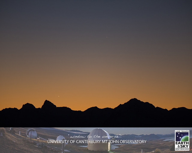 Venus & Mercury at dusk