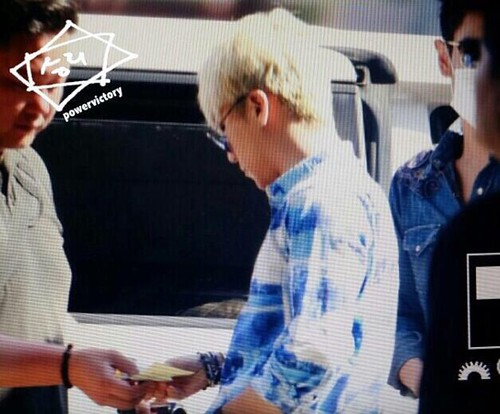 BIGBANG departure Jeju 2015-05-20 05