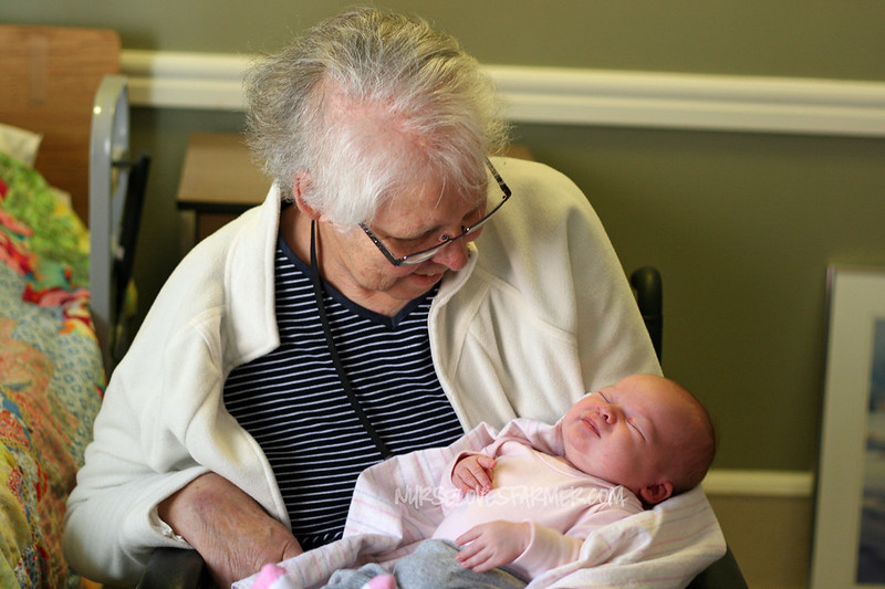 Abigail Meets Great Grandma