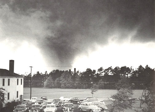April 30, 1953 F4 Tornado at Warner-Robins AFB, Georgia