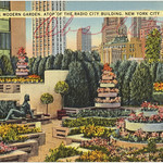 The Modern Garden, atop of the Radio City building, New York City