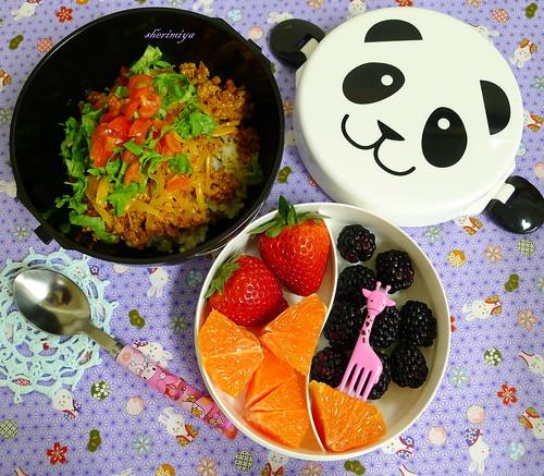 Tacorice Panda Bento by sherimiya ♥