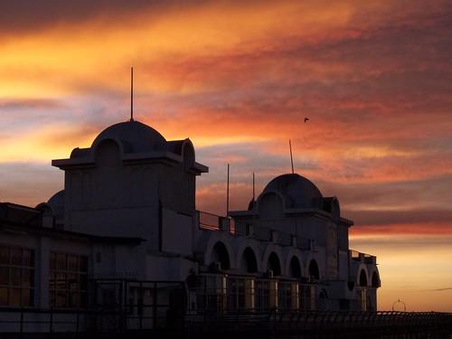 Pier sunset 2
