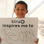 KLRU inspires me to... learn.
