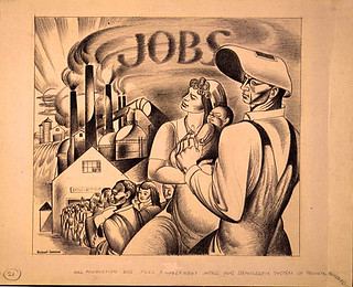 Lenson, Michael (1903-1971) - 1944c. Full Production and Full Employment Under Our Democratic System of Private Enterprise (Private Collection)