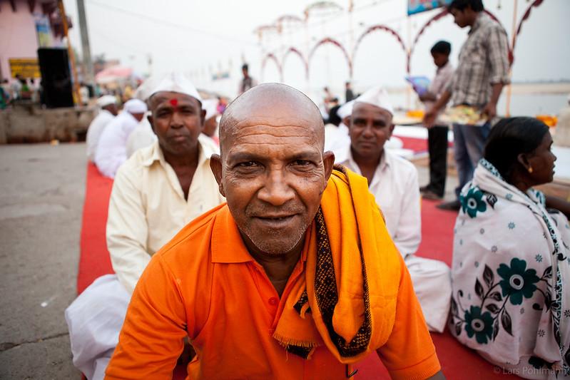 Pilgrims in Varanasi