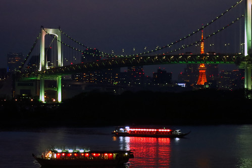 Rainbow bridge @odaiba