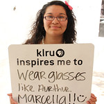 KLRU inspires me to... wear glasses like Arthur.