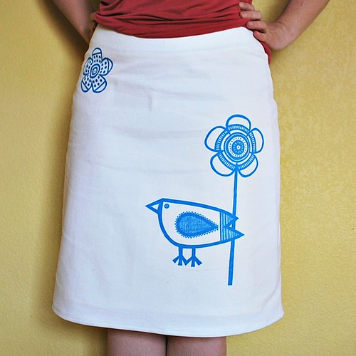 Big Birdie Skirt fits perfectly :)