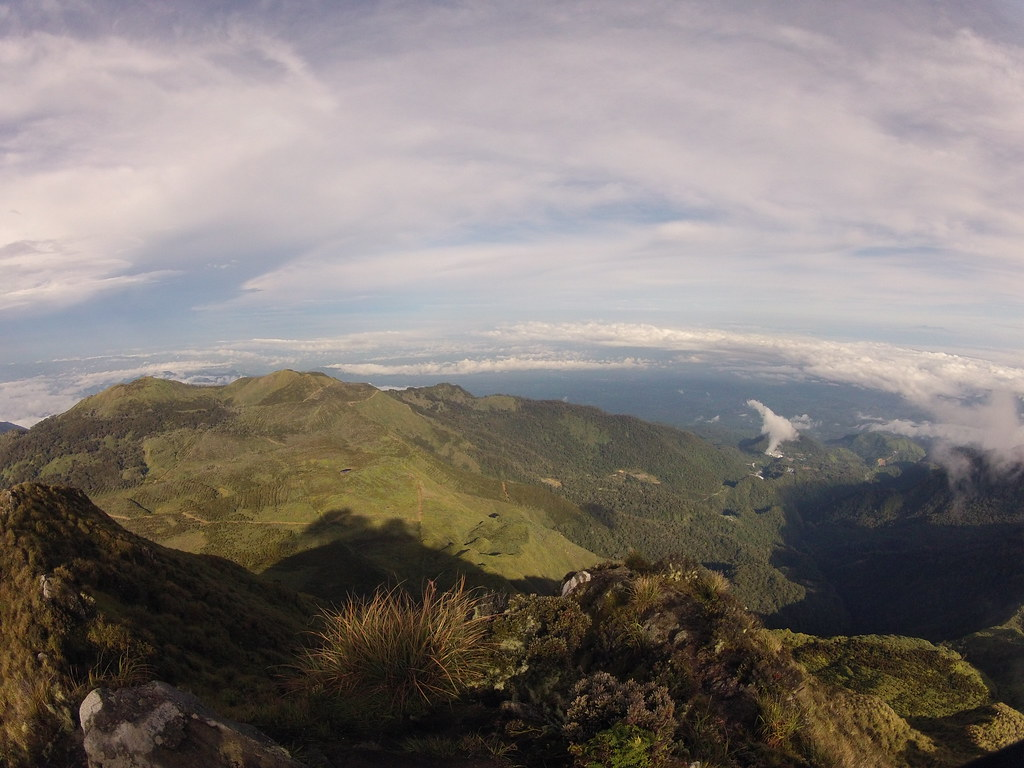 View from the top of Mount Apo