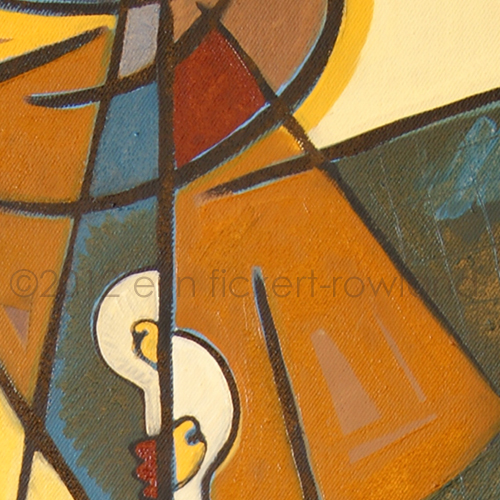 """Illumination"" Original Painting by Erin Fickert-Rowland-Detail 1"