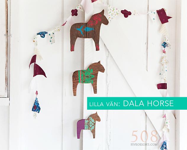 Lilla Vän: DALA HORSE