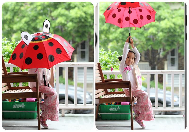 the second rainy day!