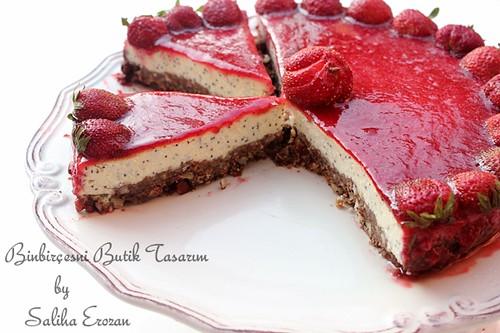 strawberry cheesecake by saliha.erozan_binbirçeşni