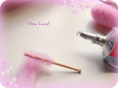 Tutorial: Algodón de Azúcar en miniatura4