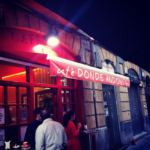 CAFE DONDE ANDONI Bilbao by LaVisitaComunicacion