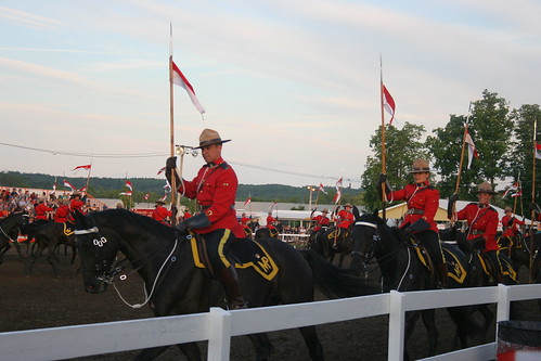 Royal Canadian Mounted Police, Musical Ride, Stirling, Ontario, June 8, 2012_6513