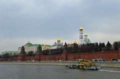 Vue sur le Kremlin depuis la Moskova