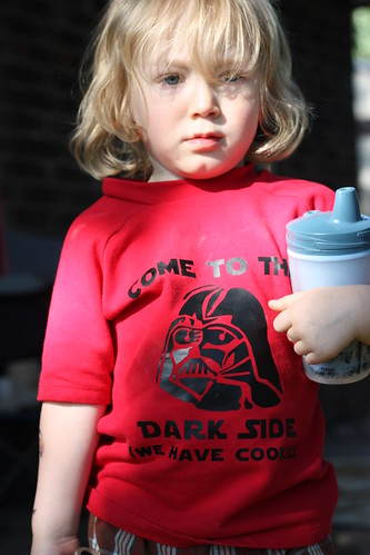 Will's Darth Vader Shirt