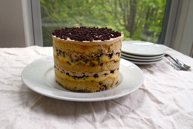 Chocolate-chip Layer Cake