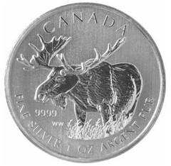 Canada Moose coin