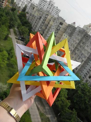 6 tetrahedra, Daniel Kwan, in my hand