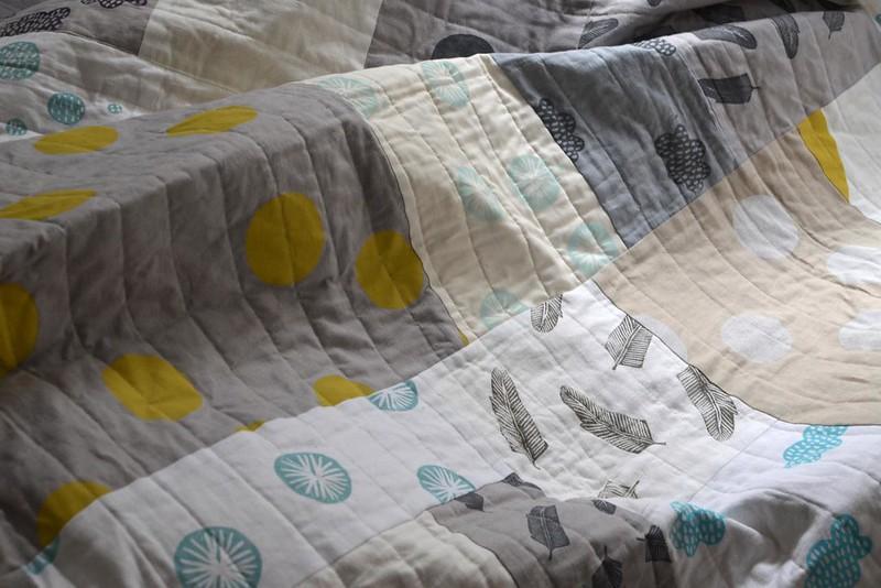 misprint improvisational quilt