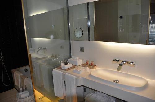 Baño de la habitación Mandarin Terrace