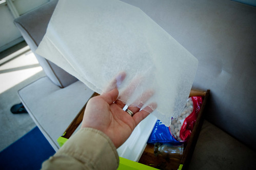 Sticky drawer remedy.