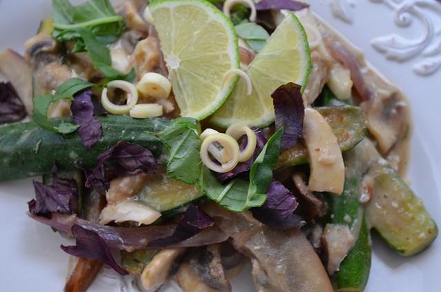 lemongrass basil dish