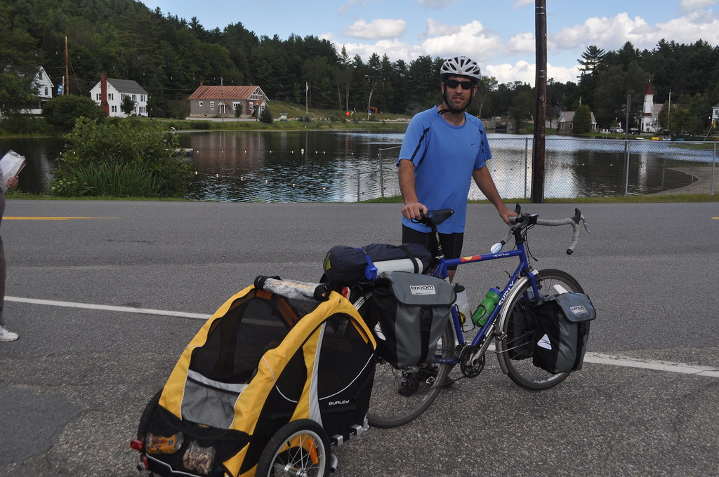 how to connect burley bike trailer