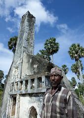 Tomb in Mkumbuu ancient town, Pemba, Tanzania