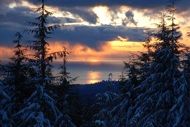 Nice Sky from Mount Seymour