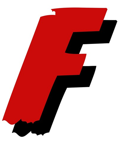 FF - Fight Fascism logo by Teacher Dude's BBQ