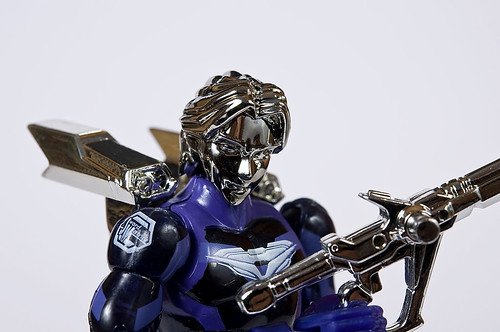 MFX-01 Sword Warrior Jin (Mission Force Microman Quanto Zero-One Neko Mook Exclusive)