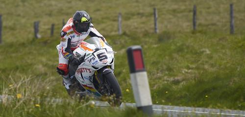 Bruce Anstey at the Isle of Man Superbike TT 2012