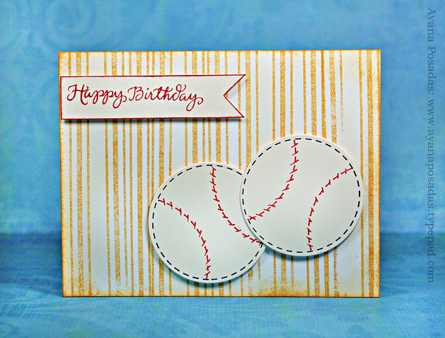 Happy Birthday Baseballs