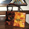 vintage-70s-handbag-rust-brown-color block-brush strokes