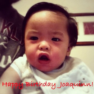 Happy 1st Birthday Joaquinn!!!