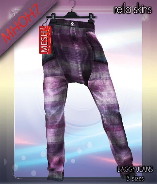 Reila Skins - Baggy Jeans MHOH7
