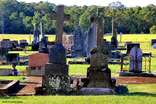 St Barnabas Anglican Church Cemetery - Parish of Clarencetown, Booral, NSW