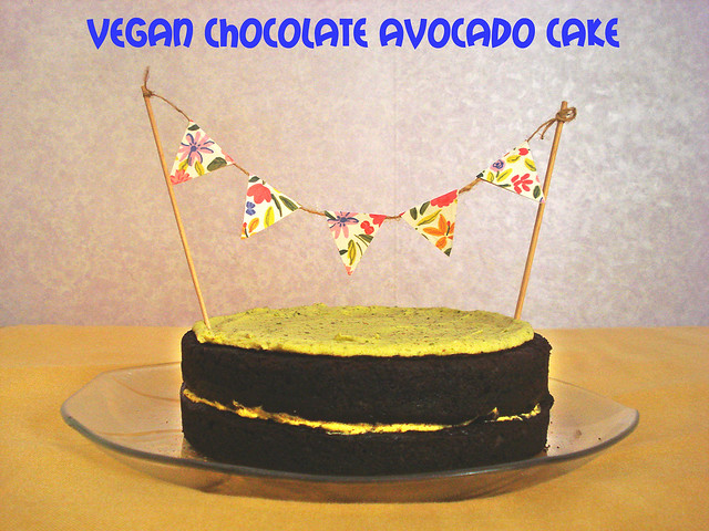 avocado vegan cake