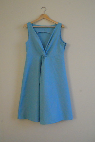 Burda 3/2012 Knot Dress