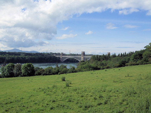 The Britannia Bridge, Anglesey - Wales.