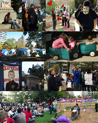 Occupy DC Photo Collage