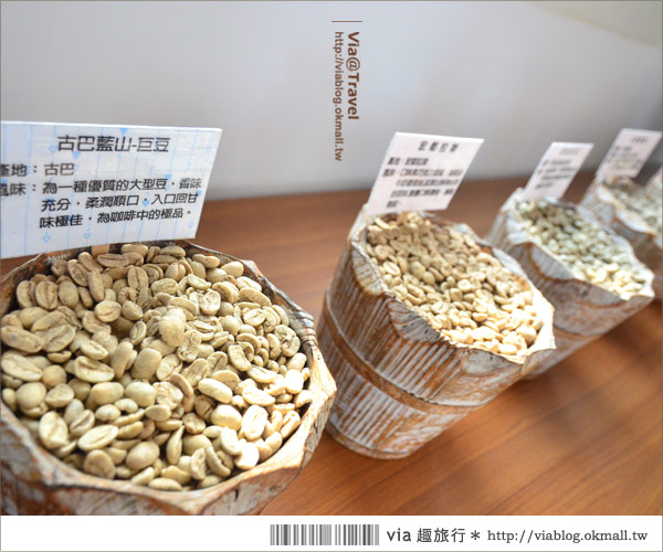 【彰化大村】進昌咖啡烘焙館~田園中的黃色歐式城堡!5